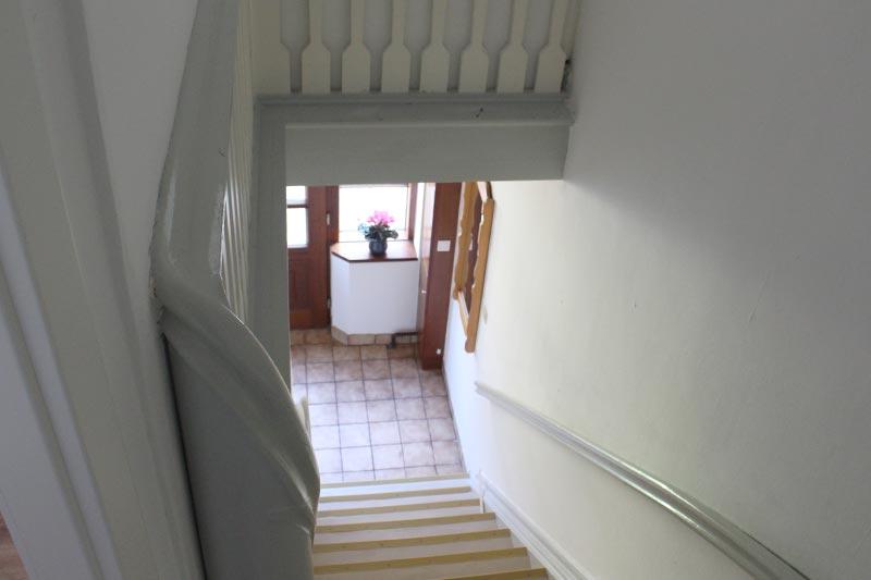 Treppe Ferienwohnung Alte Schule