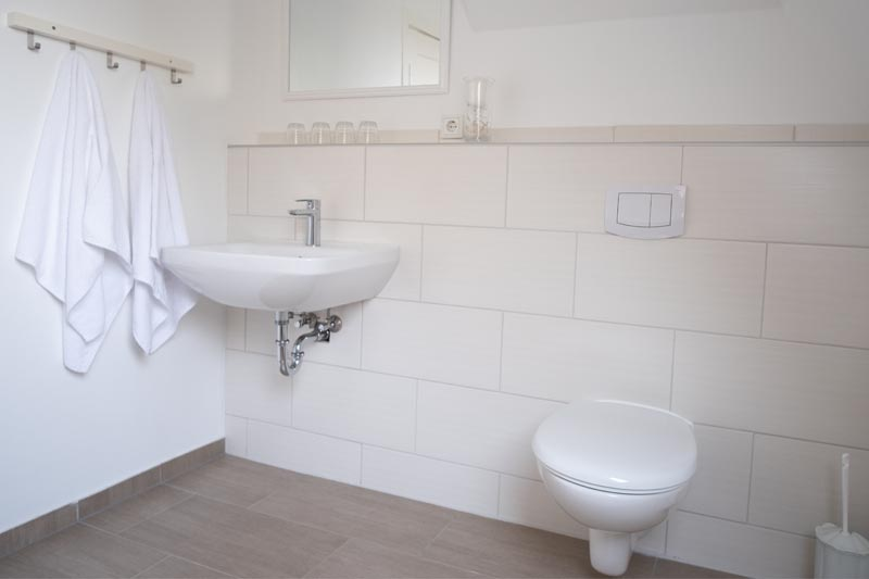 Wohlfühl-Bad mit Handtüchern